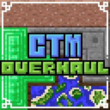 Connected Textures (CTM) Overhaul Minecraft Texture Pack
