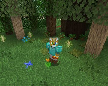Birch to Light Oak: Mini-Pack Minecraft Texture Pack