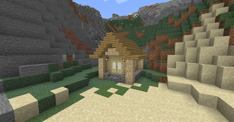 House made of Light Oak