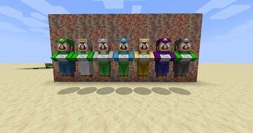 super luigi villagers Minecraft Texture Pack