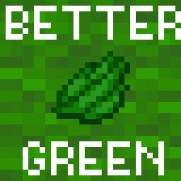 Better Green Minecraft Texture Pack