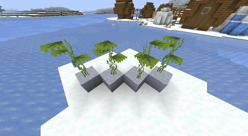 Now the same plants with the pack. The stems are now more proportional, the top leaf isn't floating, and the leaves are a bit larger.