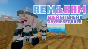 Rem and Ram [COSMETIC ASMR] JavaEdition Minecraft Texture Pack