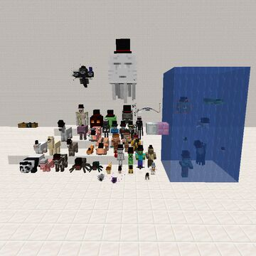 Top hat mobs pack Minecraft Texture Pack