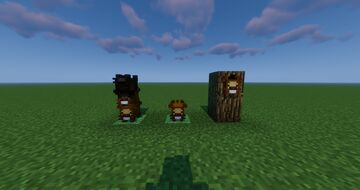 Bidoof Blocks Minecraft Texture Pack