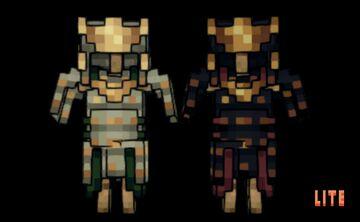 Spirits   Samurai Gear [Lite] Minecraft Texture Pack