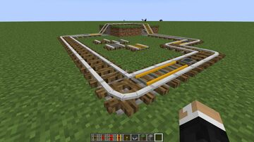 Oak Log Rails! (1.17 but will most likely work from 1.15 onwards) Minecraft Texture Pack