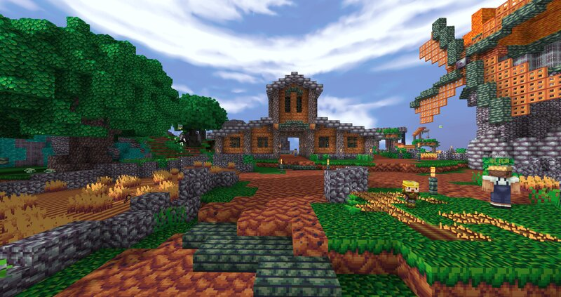 Hypixel skyblocks farm