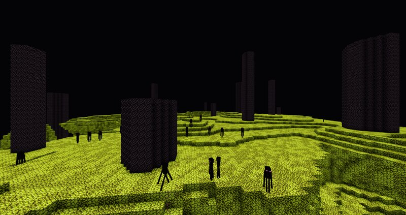 The End with shaders