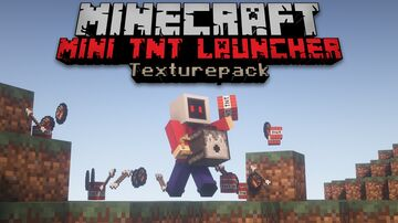 Hand Held TNT launcher Texturepack | Data pack NOT included | 1.17+ Minecraft Texture Pack
