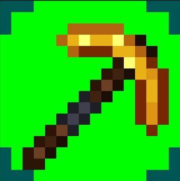 Better Golden Pickaxe Minecraft Texture Pack