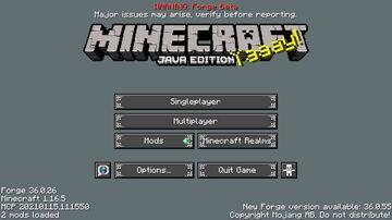 Dark Inventory Minecraft Texture Pack