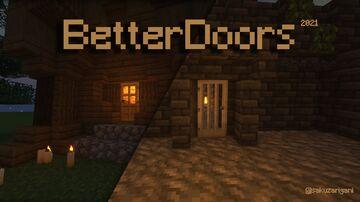 Better doors (Oak/Iron) Minecraft Texture Pack
