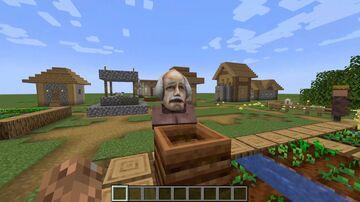 HL1 Scientist villager sounds Minecraft Texture Pack