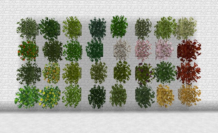 New Leaves with Better Foliage Mod