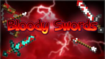 Bloody Swords Resource Pack (1.8 - 1.17) Minecraft Texture Pack