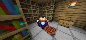 Animated Enchantment Table | Bedrock Edition Minecraft Texture Pack