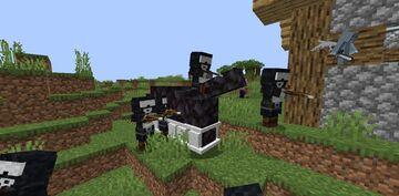 Tankman Pillagers Minecraft Texture Pack