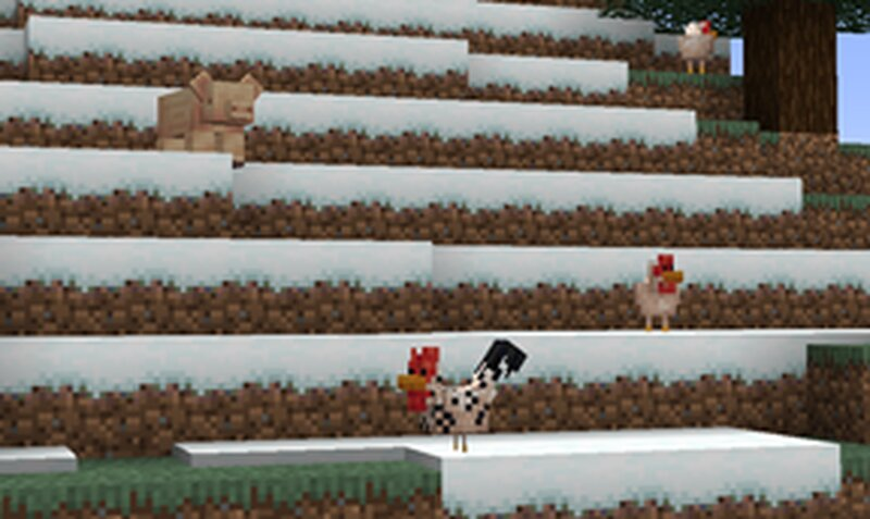 They can spawn in cold biomes as well as birch forests and flower forests