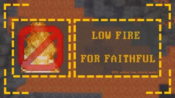 Low Fire for Faithful Minecraft Texture Pack