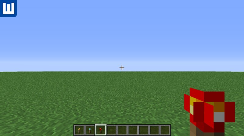 Redstone Torch In Hand