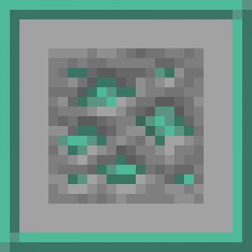 Oxidized Raw Copper Minecraft Texture Pack