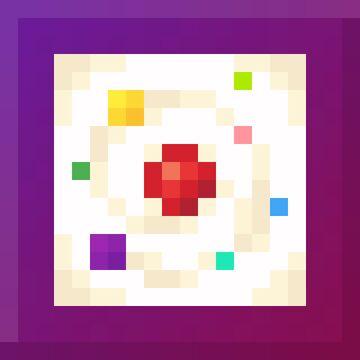 Rainbow Cake Minecraft Texture Pack