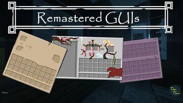Remastered GUIs (1.17) Minecraft Texture Pack