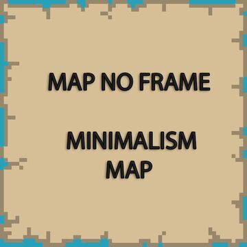 Map No Frame [1.17.1] Minecraft Texture Pack
