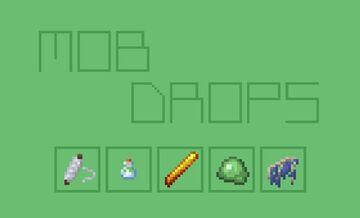 Mob Drop Tweaks Minecraft Texture Pack