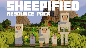 Sheepified Minecraft Texture Pack