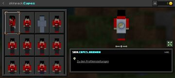 Capes Skin Pack (Minecraft Bedrock 1.16.0-1.17.X, with my cape!!!) Minecraft Texture Pack