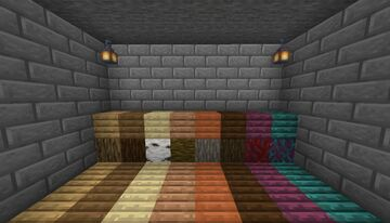 Better Planks! [Java and Bedrock] Minecraft Texture Pack