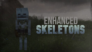 Enhanced Skeletons Minecraft Texture Pack
