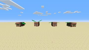Beelagers Minecraft Texture Pack