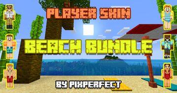 PixPerfect's Player Skins, Volume 1 - Beach Bundle Minecraft Texture Pack