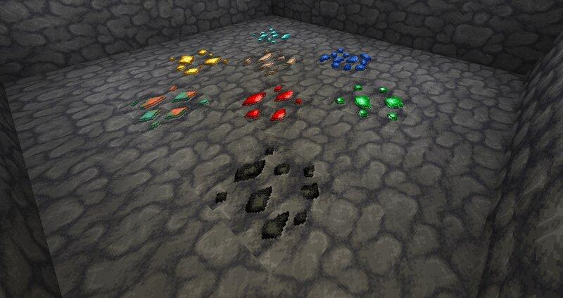 Deepslate ore variants