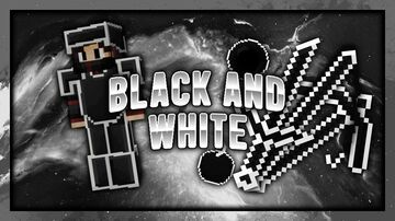 Black And White - 32x Texture Pack Minecraft Texture Pack