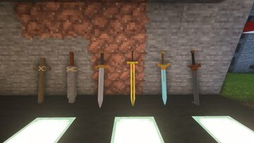 Sophie's Voxel Swords - UPDATED MARCH 22 2021 Minecraft Texture Pack