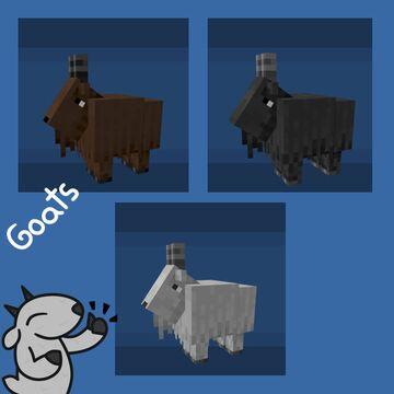 Goat Minecraft Texture Pack