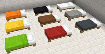 Consistent Beds - Bedrock Minecraft Texture Pack
