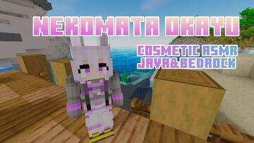 Nekomata Okayu [COSMETIC ASMR] Java&Bedrock Minecraft Texture Pack