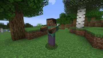Cursed RTX Steve from u/Jonatan3D Minecraft Texture Pack