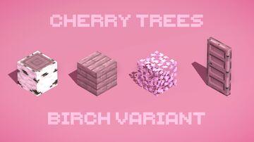 Cherry Trees (Birch) Minecraft Texture Pack