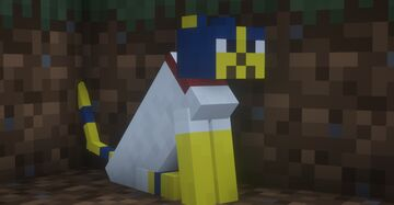 Ankha over cat! Minecraft Texture Pack