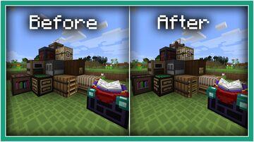 Cube Chaos 3D Blocks Addon Minecraft Texture Pack