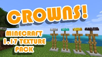 More Crowns by IcebergLettuce (1.17+) Minecraft Texture Pack