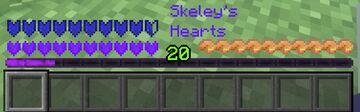 Skeley's Purple Hearts Minecraft Texture Pack
