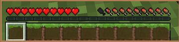 Grass Hotbar Minecraft Texture Pack