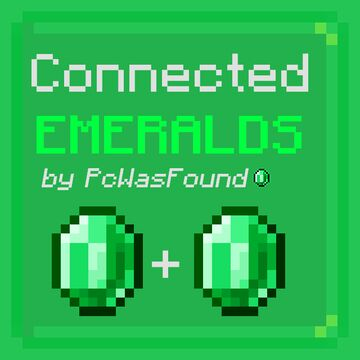 Connected Emeralds Minecraft Texture Pack